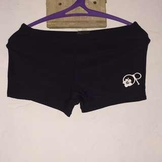 OP Womens Athletic Sports Fashion Swimwear Swimming Shorts Nylon Spandex Size Small