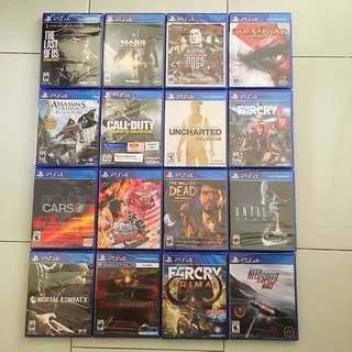 PS4 Games Spring Sale 2018 Round 2 - Any 2 Games for $55 (All Brand New And Sealed)