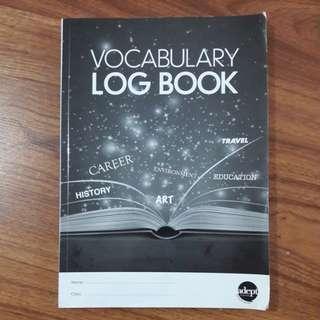 VOCAB LOG BOOK