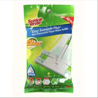 BN Scotch Brite Easy Sweeper Plus Wet disposable refills