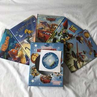 Disney Read Along Story Book (with CD)