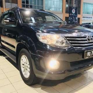 Toyota Fortuner 2.7 Petrol TRD Sportivo