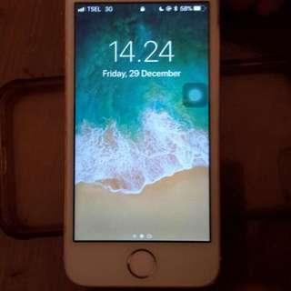 Iphone 5s rosegold 32gb