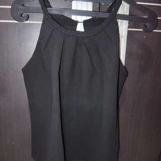Halter Neck Black