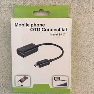Android Mobile Phone OTG Cable