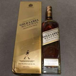 JohnnieWalker Gold Label 750ml