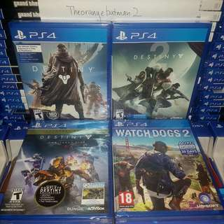 PS4 GAMES COLLECTION 9.