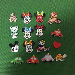 Embroidered Iron Ons $0.30 each. Min purchase $6 by ordinary mail