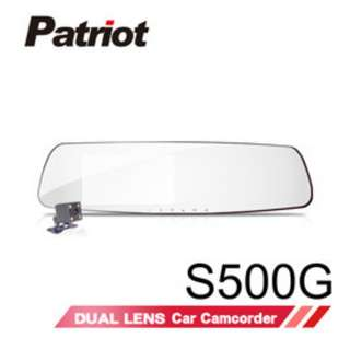 🚚 愛國者S500G 1296P HDR高清畫質 GPS測速型行車記錄器
