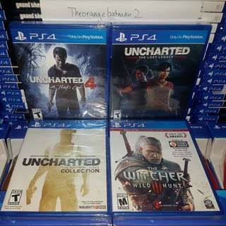 PS4 GAMES COLLECTION 10.