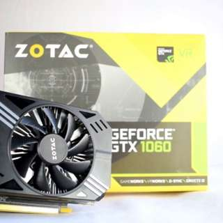 ZOTAC graphic cards! 1060 1050