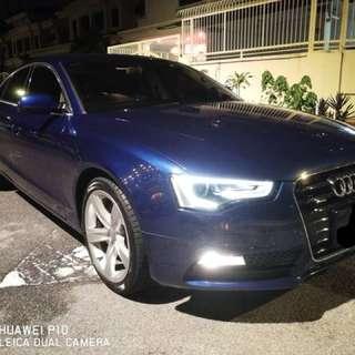 Audi A5 sportback 2015! for rental!