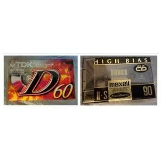 卡式帶 Cassette Tape (全新)