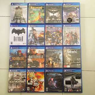 PS4 Games Spring Sale 2018 Round 3 - Any 2 games for $55 (All Brand New And Sealed)