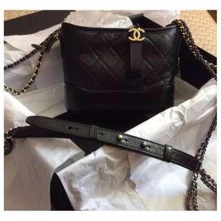 2017 IT BAG十大之首-Chanel Gabrielle 2017 Hobo Bag Black 手袋