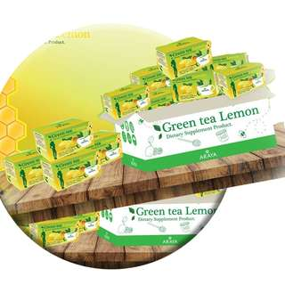 ARAYA Green Tea Lemon