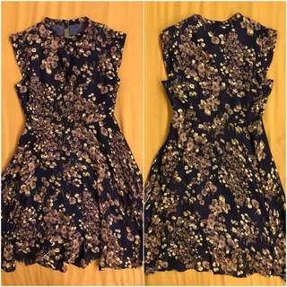 CNY Floral Dress