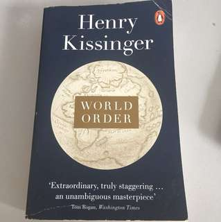 World Order Henry Kissinger