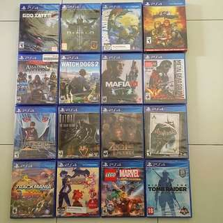 PS4 Games Spring Sale 2018 Round 4 - Any 3 Games For $100 (All Brand New And Sealed)