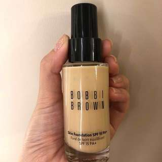 Bobbi Brown Skin Foundation SPF 15 PA+ Warm Ivory