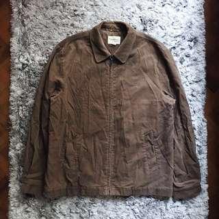 ⚡️Crocodile Brown Corduroy Jacket (Authentic)