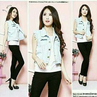 sweety jeans rompi