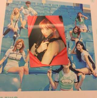 WTT/WTS| Twice Page Two Momo Lenticular Hologram Photocard