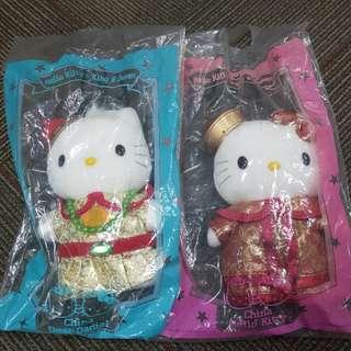 Hello Kitty Plush Toy Set (China)