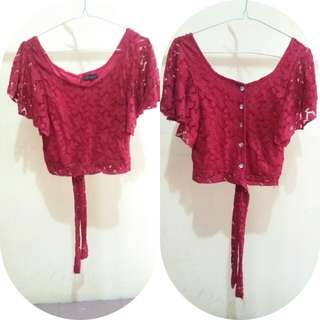 Buy 1 get 1 [ Red Top & Rok ]