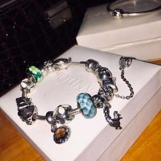 Authentic Pandora Charm Bracelet