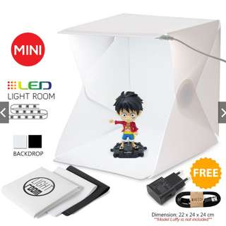 ALX Mini Fordable Photography Studio Tent Portable LED