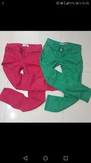 Colour jeans 牛仔褲