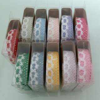 Adhesive Fabric Lace Tape