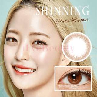 OLENS SHINING PURE BROWN LENS INSTOCK 750 MONTHLY