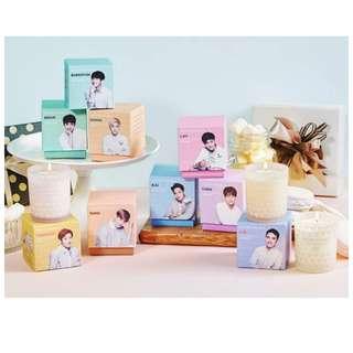 韓國 Nature Republic X EXO 香氛蠟燭 豬肉餅乾脆笛酥 韓國代購