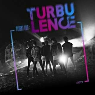 "GOT7 2nd Album- ""Flight Log: TURBULENCE"""