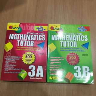 Secondary 3 Math Assessment Book