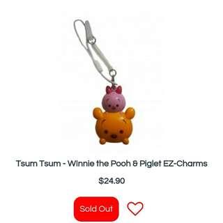Tsum tsum Pooh charm
