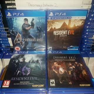 PS4 GAMES COLLECTION 14.