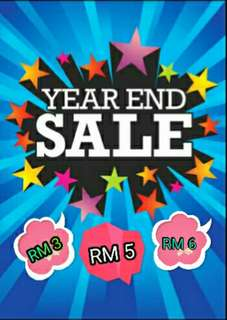 YEAR END SALES🎉🎊