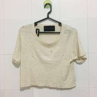 Mutiara crop top