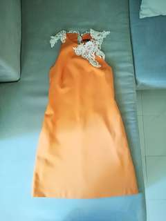 Zara Halter Dress Free postage