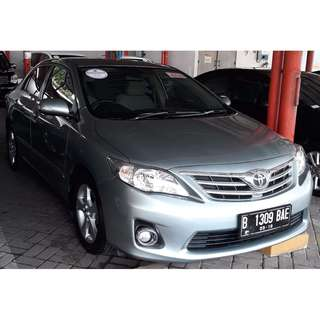 toyota altis g corolla new 1.8 bensin A/T 2013