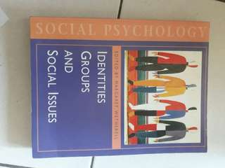 Social Psychology book