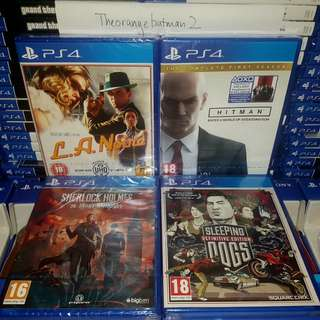 PS4 GAMES COLLECTION 18.