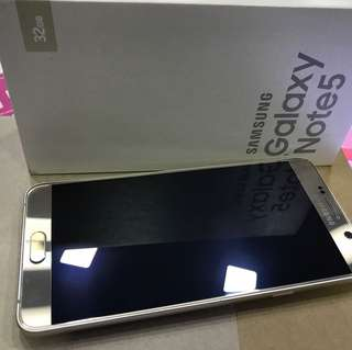 Samsung Note 5 used