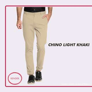 Render Chino - Light Khaki