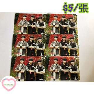 Tfboys yescard 138發 閃卡
