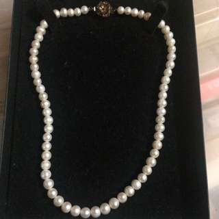 Authentic freshwater Pearl Necklace ⛓