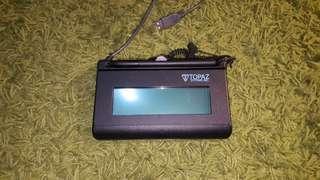 Topaz Signature Pad t-l460-hsb-r